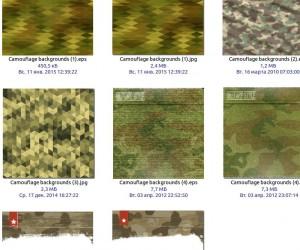 Камуфляж в векторе  Camouflage_backgrounds_Vectors