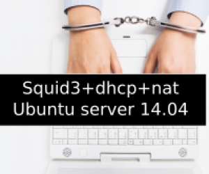 Squid3+dhcp+nat Ubuntu server 14.04