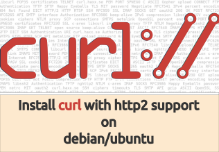 Build curl with http2 support on debian/ubuntu