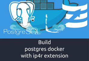 Build postgres docker with ip4r extension